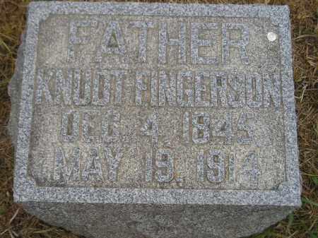 FINGERSON, KNUDT - Kingsbury County, South Dakota | KNUDT FINGERSON - South Dakota Gravestone Photos