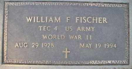 FISCHER, WILLIAM F - Kingsbury County, South Dakota | WILLIAM F FISCHER - South Dakota Gravestone Photos