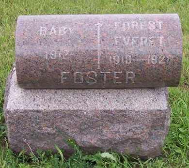 FOSTER, FOREST EVERET - Kingsbury County, South Dakota   FOREST EVERET FOSTER - South Dakota Gravestone Photos