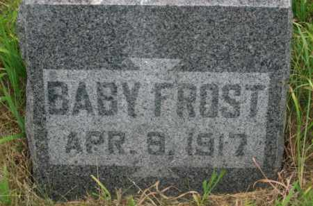 FROST, BABY - Kingsbury County, South Dakota | BABY FROST - South Dakota Gravestone Photos