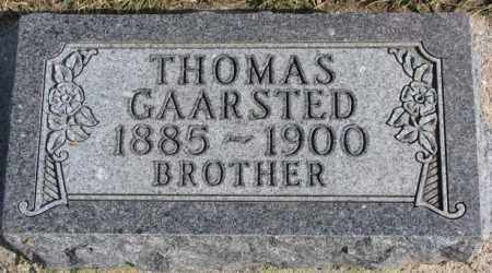 GAARSTED, THOMAS - Kingsbury County, South Dakota   THOMAS GAARSTED - South Dakota Gravestone Photos
