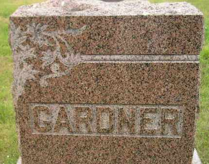 GARDNER, FAMILY STONE - Kingsbury County, South Dakota | FAMILY STONE GARDNER - South Dakota Gravestone Photos