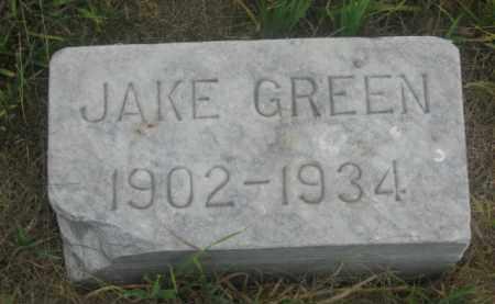 GREEN, JAKE - Kingsbury County, South Dakota | JAKE GREEN - South Dakota Gravestone Photos