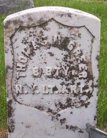 GREER, THOMAS M - Kingsbury County, South Dakota   THOMAS M GREER - South Dakota Gravestone Photos