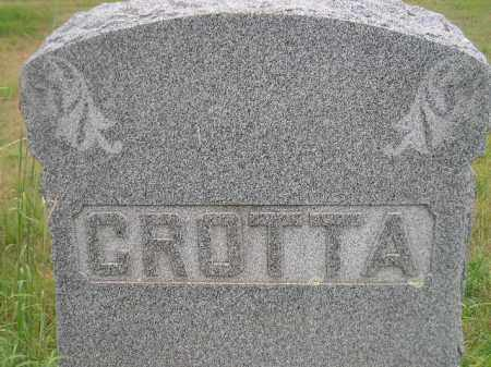 GROTTA, FAMILY STONE - Kingsbury County, South Dakota | FAMILY STONE GROTTA - South Dakota Gravestone Photos