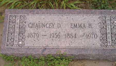 HANNAH, CHAUNCEY D. - Kingsbury County, South Dakota | CHAUNCEY D. HANNAH - South Dakota Gravestone Photos