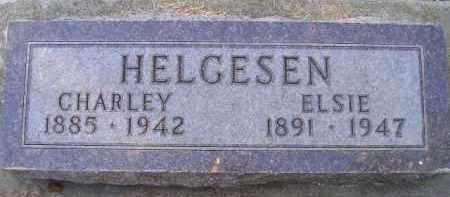 HELGESEN, CHARLEY - Kingsbury County, South Dakota | CHARLEY HELGESEN - South Dakota Gravestone Photos
