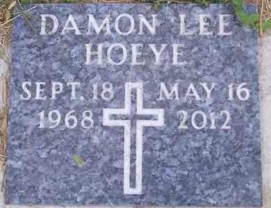 HOEYE, DAMON LEE - Kingsbury County, South Dakota | DAMON LEE HOEYE - South Dakota Gravestone Photos