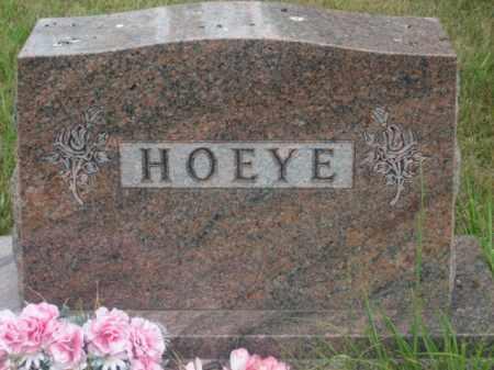 HOEYE, FAMILY STONE - Kingsbury County, South Dakota | FAMILY STONE HOEYE - South Dakota Gravestone Photos