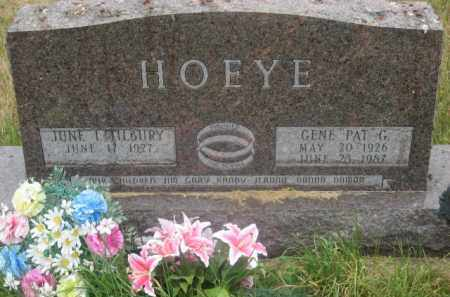 HOEYE, JUNE I. - Kingsbury County, South Dakota | JUNE I. HOEYE - South Dakota Gravestone Photos