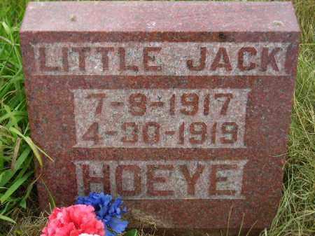 HOEYE, JACK - Kingsbury County, South Dakota | JACK HOEYE - South Dakota Gravestone Photos