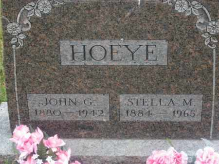 HOEYE, STELLA M. - Kingsbury County, South Dakota | STELLA M. HOEYE - South Dakota Gravestone Photos