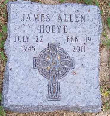 HOEYE, JAMES ALLEN - Kingsbury County, South Dakota | JAMES ALLEN HOEYE - South Dakota Gravestone Photos
