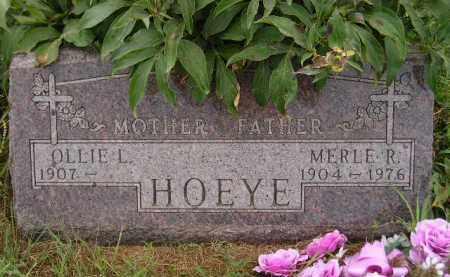 HOEYE, OLLIE L. - Kingsbury County, South Dakota | OLLIE L. HOEYE - South Dakota Gravestone Photos