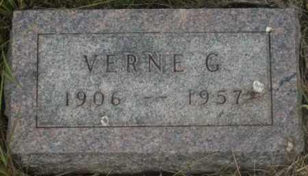 HOEYE, VERNE G. - Kingsbury County, South Dakota | VERNE G. HOEYE - South Dakota Gravestone Photos