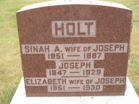 HOLT, JOSEPH - Kingsbury County, South Dakota | JOSEPH HOLT - South Dakota Gravestone Photos