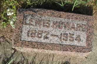 HOWARD, LEWIS - Kingsbury County, South Dakota | LEWIS HOWARD - South Dakota Gravestone Photos