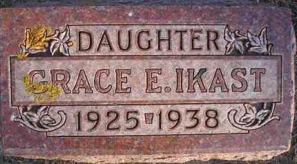IKAST, GRACE E - Kingsbury County, South Dakota | GRACE E IKAST - South Dakota Gravestone Photos