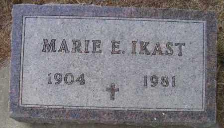 IKAST, MARIE E - Kingsbury County, South Dakota | MARIE E IKAST - South Dakota Gravestone Photos
