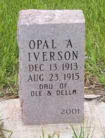 IVERSON, OPAL A. - Kingsbury County, South Dakota | OPAL A. IVERSON - South Dakota Gravestone Photos