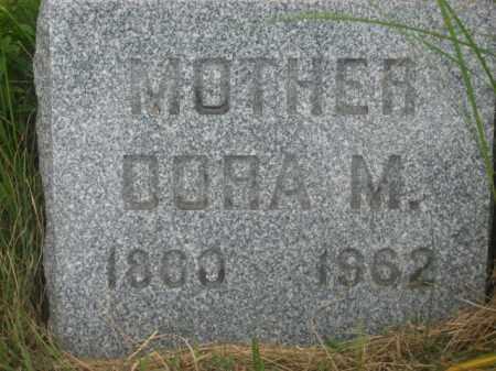 JEFFERS, DORA M. - Kingsbury County, South Dakota | DORA M. JEFFERS - South Dakota Gravestone Photos