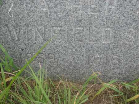 JEFFERS, WINFIELD S. - Kingsbury County, South Dakota | WINFIELD S. JEFFERS - South Dakota Gravestone Photos