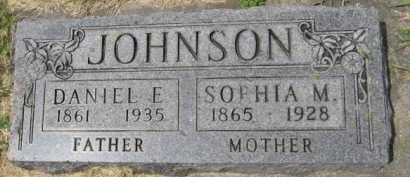 JOHNSON, SOPHIA M - Kingsbury County, South Dakota   SOPHIA M JOHNSON - South Dakota Gravestone Photos