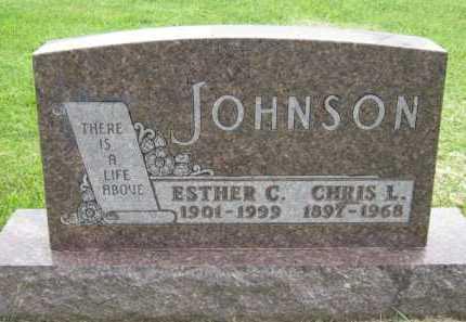 JOHNSON, ESTHER C - Kingsbury County, South Dakota | ESTHER C JOHNSON - South Dakota Gravestone Photos