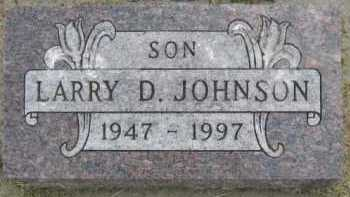 JOHNSON, LARRY D - Kingsbury County, South Dakota   LARRY D JOHNSON - South Dakota Gravestone Photos