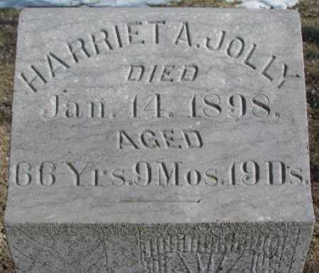 JOLLY, HARRIET A. - Kingsbury County, South Dakota | HARRIET A. JOLLY - South Dakota Gravestone Photos