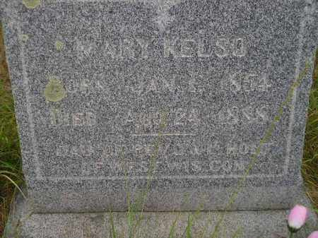 KELSO, MARY - Kingsbury County, South Dakota | MARY KELSO - South Dakota Gravestone Photos