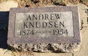 KNUDSEN, ANDREW - Kingsbury County, South Dakota | ANDREW KNUDSEN - South Dakota Gravestone Photos