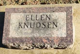 KNUDSEN, ELLEN - Kingsbury County, South Dakota | ELLEN KNUDSEN - South Dakota Gravestone Photos