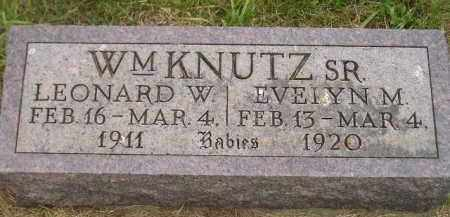 KNUTZ, LEONARD W. - Kingsbury County, South Dakota | LEONARD W. KNUTZ - South Dakota Gravestone Photos