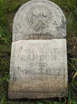 LANDON, RALPH R. - Kingsbury County, South Dakota | RALPH R. LANDON - South Dakota Gravestone Photos