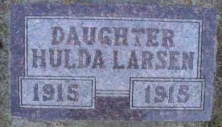 LARSEN, HULDA - Kingsbury County, South Dakota | HULDA LARSEN - South Dakota Gravestone Photos