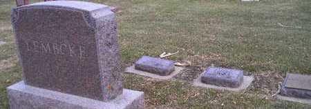 LEMBCKE, FAMILY - Kingsbury County, South Dakota | FAMILY LEMBCKE - South Dakota Gravestone Photos
