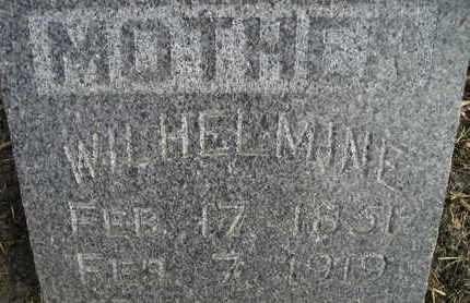LEMBCKE, WILHELMINE - Kingsbury County, South Dakota | WILHELMINE LEMBCKE - South Dakota Gravestone Photos