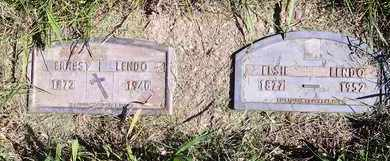 LENDO, ELSIE - Kingsbury County, South Dakota | ELSIE LENDO - South Dakota Gravestone Photos