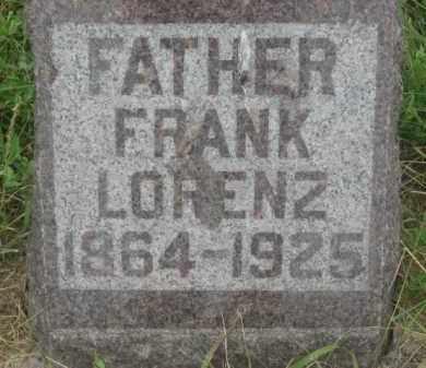 LORENZ, FRANK - Kingsbury County, South Dakota | FRANK LORENZ - South Dakota Gravestone Photos
