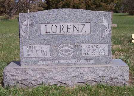 LORENZ, LEONARD DENE - Kingsbury County, South Dakota | LEONARD DENE LORENZ - South Dakota Gravestone Photos