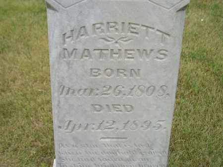 MATHEWS, HARRIETT - Kingsbury County, South Dakota   HARRIETT MATHEWS - South Dakota Gravestone Photos