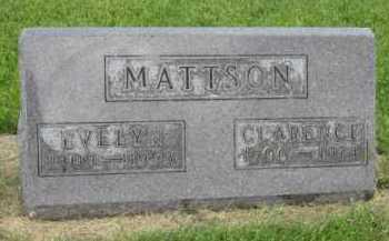 MATTSON, EVELYN - Kingsbury County, South Dakota | EVELYN MATTSON - South Dakota Gravestone Photos