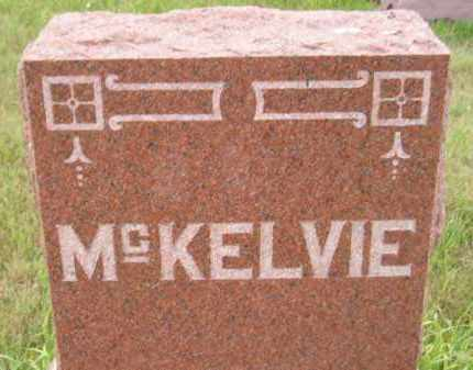 MCKELVIE, FAMILY STONE - Kingsbury County, South Dakota | FAMILY STONE MCKELVIE - South Dakota Gravestone Photos