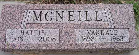 MCNEILL, HATTIE - Kingsbury County, South Dakota   HATTIE MCNEILL - South Dakota Gravestone Photos