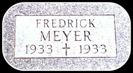 MEYER, FREDRICK - Kingsbury County, South Dakota   FREDRICK MEYER - South Dakota Gravestone Photos