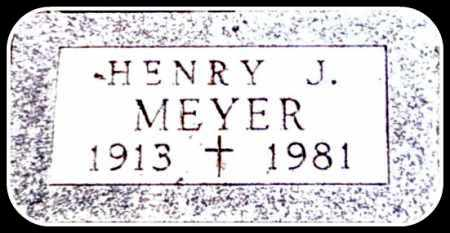 MEYER JR., HENRY JOHN - Kingsbury County, South Dakota | HENRY JOHN MEYER JR. - South Dakota Gravestone Photos