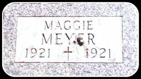 MEYER, MAGGIE - Kingsbury County, South Dakota   MAGGIE MEYER - South Dakota Gravestone Photos