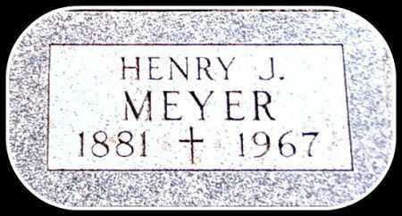 MEYER SR., HENRY JOHN - Kingsbury County, South Dakota | HENRY JOHN MEYER SR. - South Dakota Gravestone Photos
