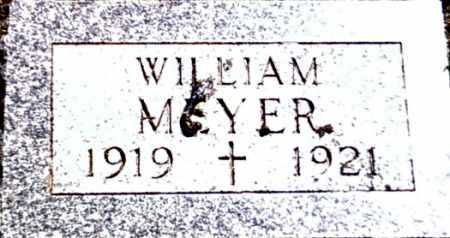 MEYER, WILLIAM - Kingsbury County, South Dakota | WILLIAM MEYER - South Dakota Gravestone Photos